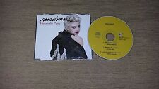 Madonna Where's the party CD single Unique Cover Free Shipping