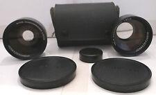 Mamiya Sekor TL/DTL 48mm F 2.8 /50mm F 2.0 Wide & Tele Conversion Lens Set +Case