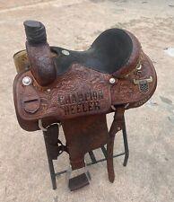 15 martin roping saddled