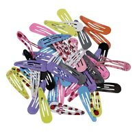 "72pcs 2"" Wholesale Hair Clips Snaps Hairpin Girls Baby Kids Hair Bow Accessories"