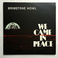 BRIMSTONE HOWL - WE CAME IN PLACE * PURPLE VINYL LP * FREE P&P UK * MINT **