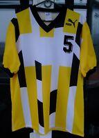 Puma Trikot Jersey Vintage 80's 90's Sz Large Polyester Football soccer t-shirt