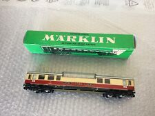 VINTAGE#MÄRKLIN H0 4090 OBSERVATION CAR DB #BOXED