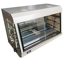 More details for electric heated countertop display cabinet food warmer glass holding case pie