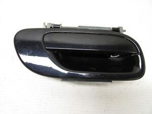 2005 VOLVO S60 REAR RIGHT PASSENGER DOOR HANDLE BLACK OEM 01 02 03 04 05 06 07