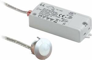 PIR Cupboard Sensor Switch PIRSENTIM-SILV Bathroom Cabinet Sensor