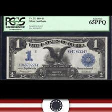 GEM 1899 $1 Silver Certificate *BLACK EAGLE* PCGS 65 EPQ  Fr 233   Y94378224Y