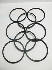 8 x NAB Adapter Gummi-Ringe neu für Revox Studer BASF Darklab no name und andere