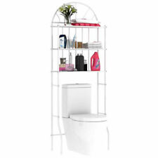UK 3 Tier Storage Rack Over Toilet Bath Laundry Washing Machine Towel Shelf