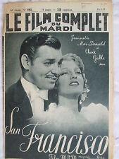 FILM COMPLET 1925 (1937) SAN FRANCISCO CLARK GABLE JEANNETTE MAC-DONALD