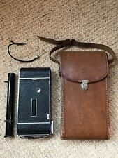 Rare, Vintage KOCHMANN ENOLDE Camera, TELESCOPIC VIEWFINDER & Leather Case. 1930