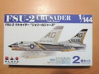 PLATZ 1/144 (2 kits in a box) F8U-2 CRUSADER `Jolly Rogers'  (PDR-6)