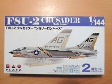 PLATZ 1/144 (2 kits in a box) F8U-2 CRUSADER `Jolly Rogers'  (PDR-6)