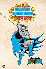 1988 Super Powers BATMAN Model Art : Justice League