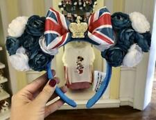 Disney Epcot Uk Minnie Rose Ear Headband