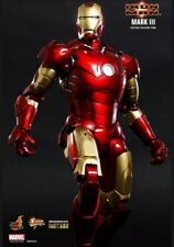 Hot Toys 1/6 Marvel Iron Man 2 Mark III MK3 MMS256 Diecast Figure