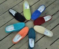 New Men Multi Colors Slip On Flats Loafer Casual Shoes Driving Moccasins Comfort