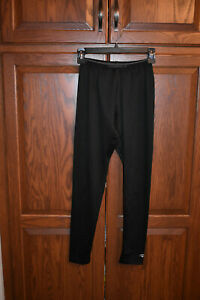 Boys DuoFold by Champion Base Layer Bottoms & Top; Black; Size L; Good Condition