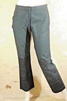 BCBG MAX AZRIA Taille 38 Superbe pantalon noir femme chino coton
