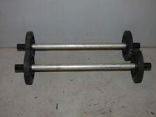 "B11 Skidoo Track Wheel Idle Idler Guide Roller 4"" Shaft Rod 2 1/2"" Wheels SET"