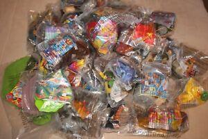 McDonalds Happy Meal Toys Walt Disney Bundle x40 Toys all BNIB most early 2000's