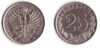 1902 Vittorio Emanuele III Cent 25 Aquila Sabauda Rara Splendida Vedi Foto