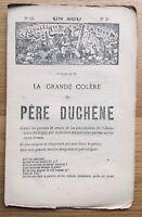 Anarchie Commune de Paris 1871 Père Duchêne Assistance Publique  Hôtel de Ville