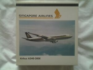 Herpa wings 1:500 Singapore Airlines Airbus A340-300E