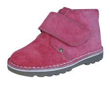 Bottes roses en cuir pour fille de 2 à 16 ans