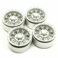 "4pcs Alloy Beadlock 2.2"" Wheel Rims for 1/10 D90 SCX10 90046 Axial Wraith TRX-4"