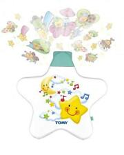 Tomy Y7585 Starlight Dreamshow Baby Cot Musical Lullaby Mobile Toy Newborn WHITE