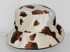 Chapeau MARKS & SPENCER marron et écru Taille 54 cm Bon état