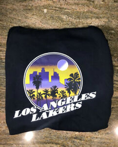 Lakers Nike City Hoodie New In Package Sealed (medium)
