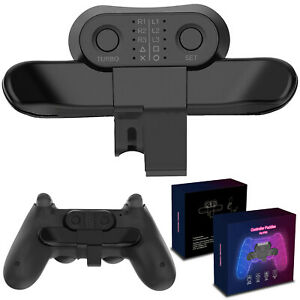 Game Extended Rear Controller Button Turbo for Sony PlayStation 4 PS4 Gamepad BM
