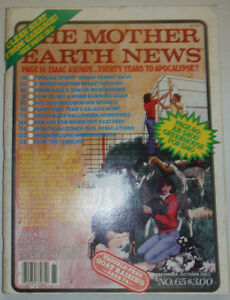 The Mother Earth News Magazine Wood Heating & Dutch Ovens October 1980 020915R2