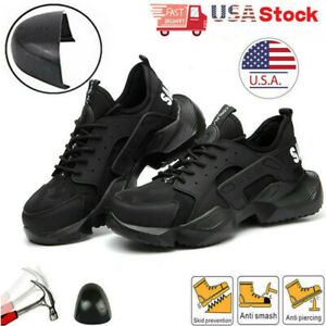 Womens Waterproof Indestructible Work Boots Sports Steel Toe Safety Shoes Sneake