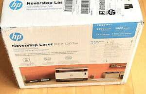 HP Neverstop Black and White Laser MFP 1202w All-In-One Printer