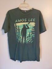 Rare Amos Lee Bigfoot Sasquatch Shirt Size Large