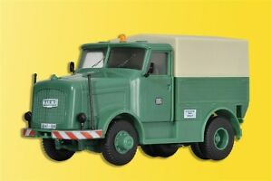 Kibri 13528 Kaelble Tractor with Tarpaulin, Kit, H0