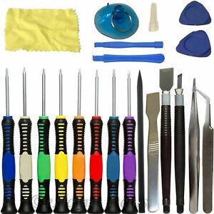 20Pcs Mobile Phone Repair Tool Kit Screwdriver Set iPhone iPod iPad Samsung UK