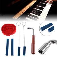 6 IN 1 DIY Piano Tuning Lever Tools Kit Long Short Mute Hammer Piano Part Set