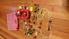 Playmobil rescue LOT -CASE-WEAPONS-TOOLS-BOAT-BEACH