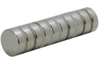 10x Neodym Magnet Scheibe D15x5 mm N52 8kg Zugkraft - Permanentmagnete power