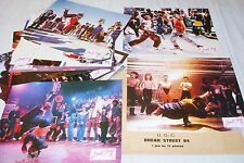 BREAK STREAT 84  ! hip hop , smurf , rare jeu 12 photos cinema  lobby card