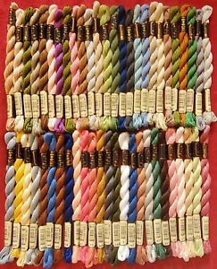 Anchor Perle Coton Pearl Cotton Embroidery Thread Lot 50 Skeins Size 3 - Lot #3