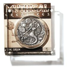 British Indian Ocean Territories The Siren 2oz Silver ?4 Coin - Display Stand an