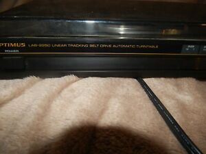 OPTIMUS LAB-2250 Turntable Record Player