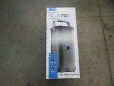 New in Box Brookstone Big Blue Party Indoor-Outdoor Portable Wireless Speaker