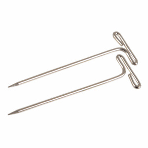 KnitPro T-Pins For Lace Blocking 50 Pack Pinning Slipcover Fabrics Canvas