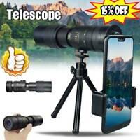 4K 10-300X40mm Super Telephoto Zoom Monocular Telescope Portable 3 Sizes